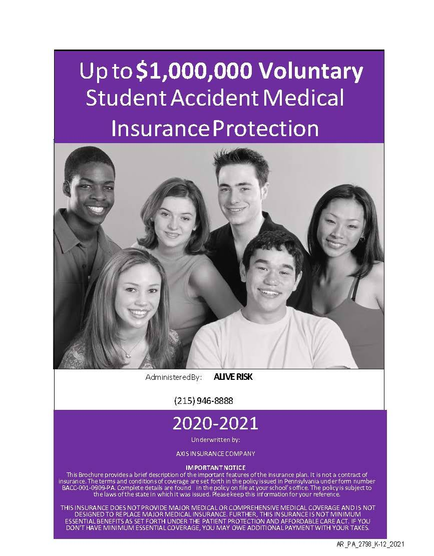 2020 - 2021 Student Accident Insurance